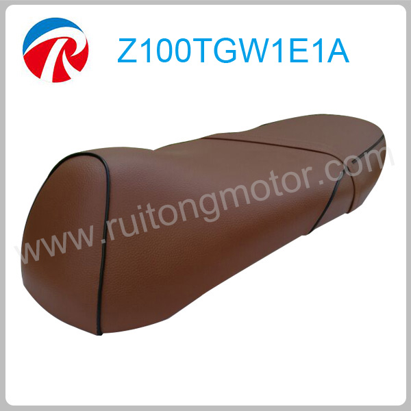 Retro Grand 50cc high flexible scooter seat cushion,leather motorcycle seat