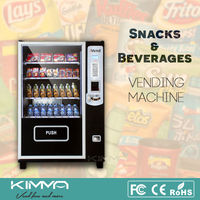 Competitive price small size snack food vending machine with refrigeration