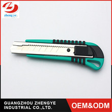 18mm 2016 new model Heavy Duty Stationery Paper cutter knife multifunctional safety Auto lock snap off blade Utility Knife