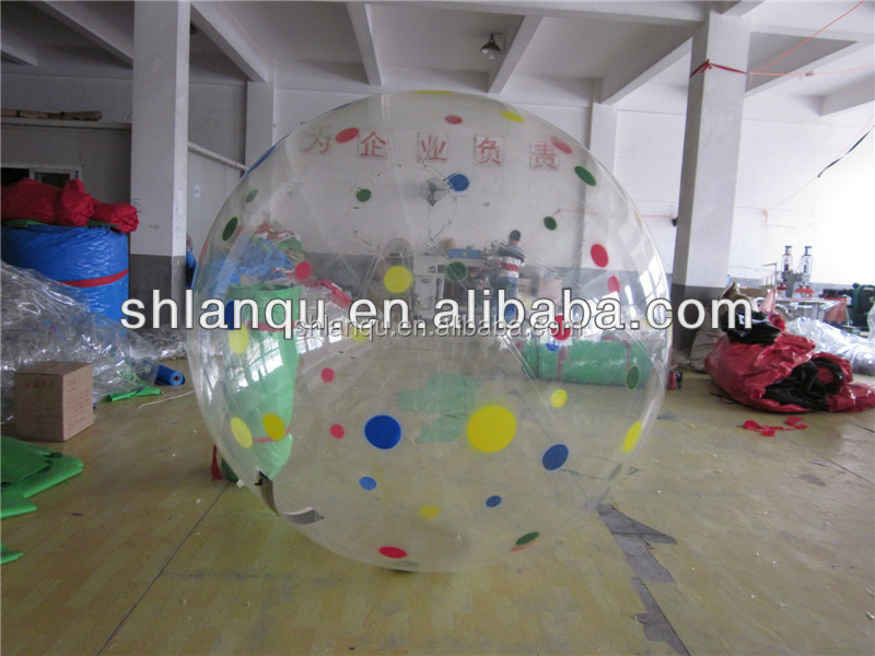 TPU water walking ball for swimming pool