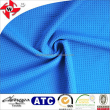 jacquard square pattern 100% poly mesh fabric