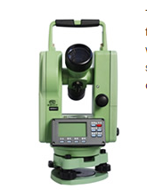 Dadi DE Series theodolite Independent tilt sensor can auto corrected
