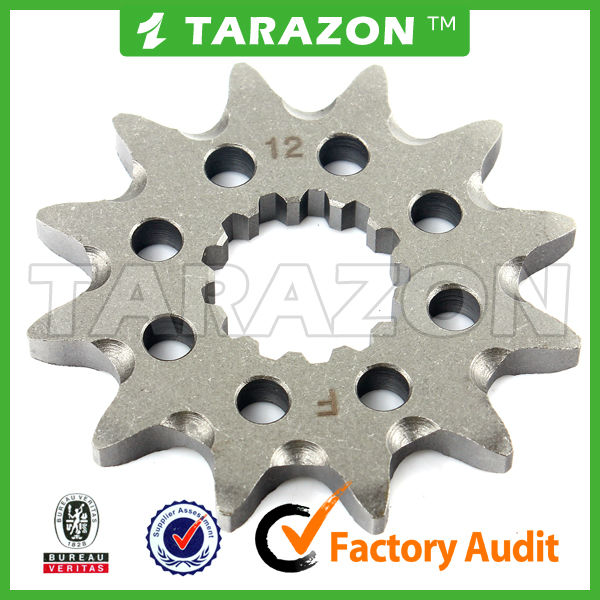 20CrMnTi Steel Produced Motorcross 12Teeth Front Sprocket for WR 450 F