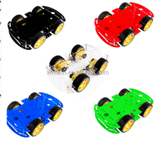 4WD Tracking Motor Smart Robot Car Kit Chassis For Arduino