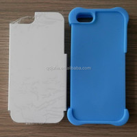 TPU & PC mobile sublimation phone case for iphone 5