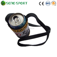 Outdoor Portable Neoprene Can Cooler Holder With Strap