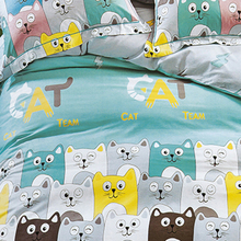 Wholesale printed fitted sheets bedcover anime bed sheets