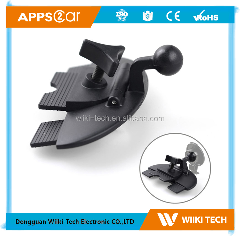 17.2 mm ball head base car holder for garmin gps