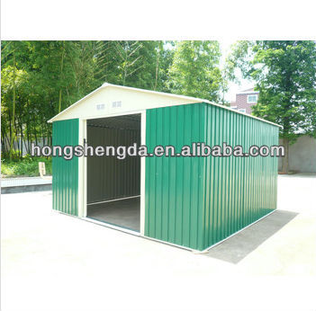 12ft*10ft metal garden shed,colorbond garden shed price
