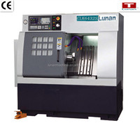 lunan factory price Slant bed CNC Lathe CLK6432S with gang tool