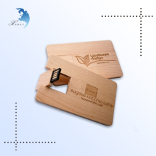 Wholesale bulk swivel wood custom 3.0 business card otg flash usb drive