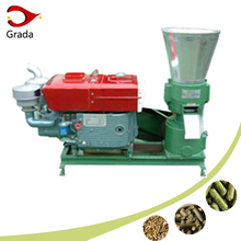 GKLP-200A Manufacturer price hot sale Diesel engine wood pellet making machine