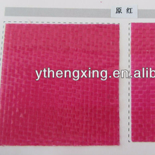 Woven poly bag lamination ink