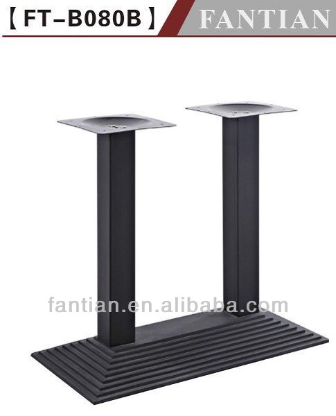 wholesale high quality Decorative And Ornamental Restaurant Cast Iron Table Base sculpture