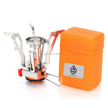 Portable Mini Camping & Backpacking Stove, FAMELEY Ultralight Hiking Camping Burner Outdoor, Butane / Butane Propane Canister Co