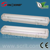 18w/36w/58w ip65 waterproof light fixture guangdong waterproof light 36w fluorescent tube light fittings
