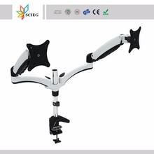 dual screen monitor desk mount dual monitor mount lcd monitor mount