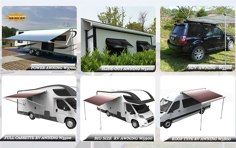 awning accessories awning for RV trailer awning for USA