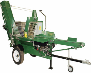 New Design 12-20ton Electric / Gasoline Automatic Wood Processor Log Splitter