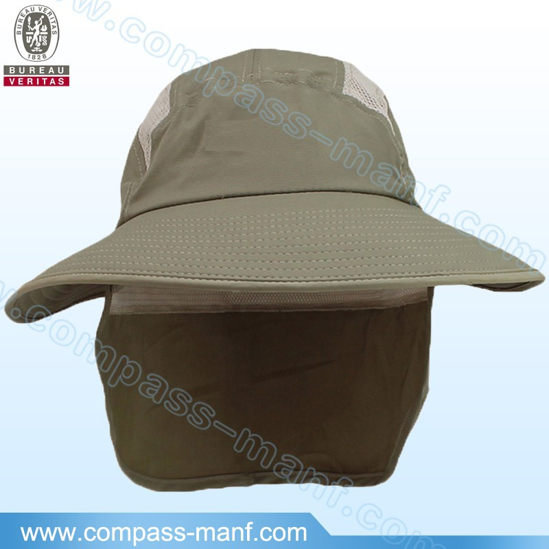 outdoor safari bucket caps neck flap boonie hats bush
