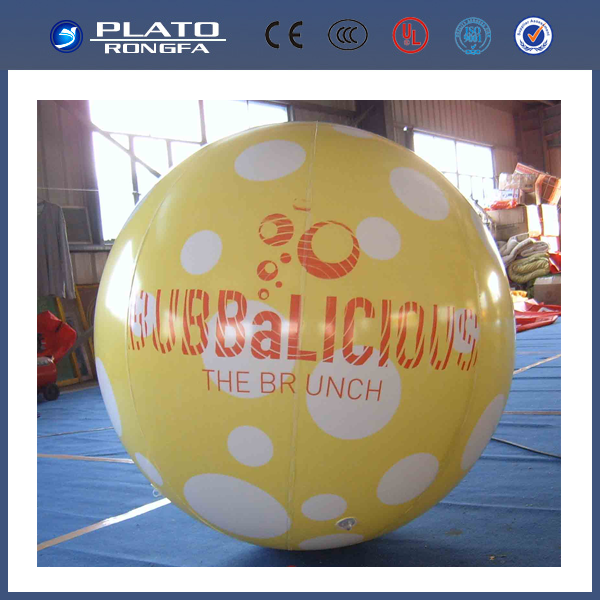 giant helium advertising balloon, inflatable hanging balloon