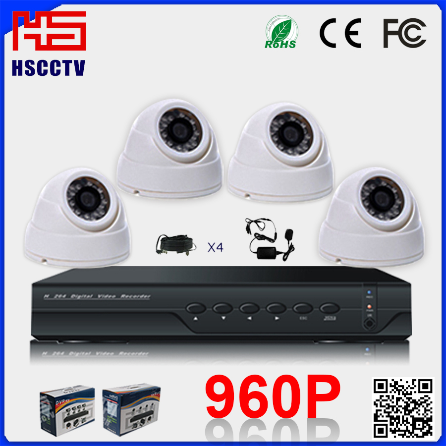 home/office/street/building vehicle security network 4CH DVR kits