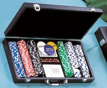 Best Price Poker Chips Set With Pu Case Tray Plastic Custom