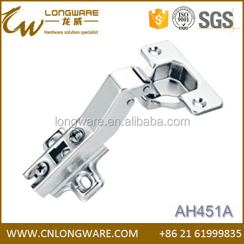 45 degree furniture cabinet angle adjustable hinge