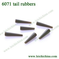 High quality carp fishing terminal tackle tail rubber