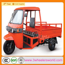 chinese new three wheel delivery motorcycle/three wheel pick up for sale