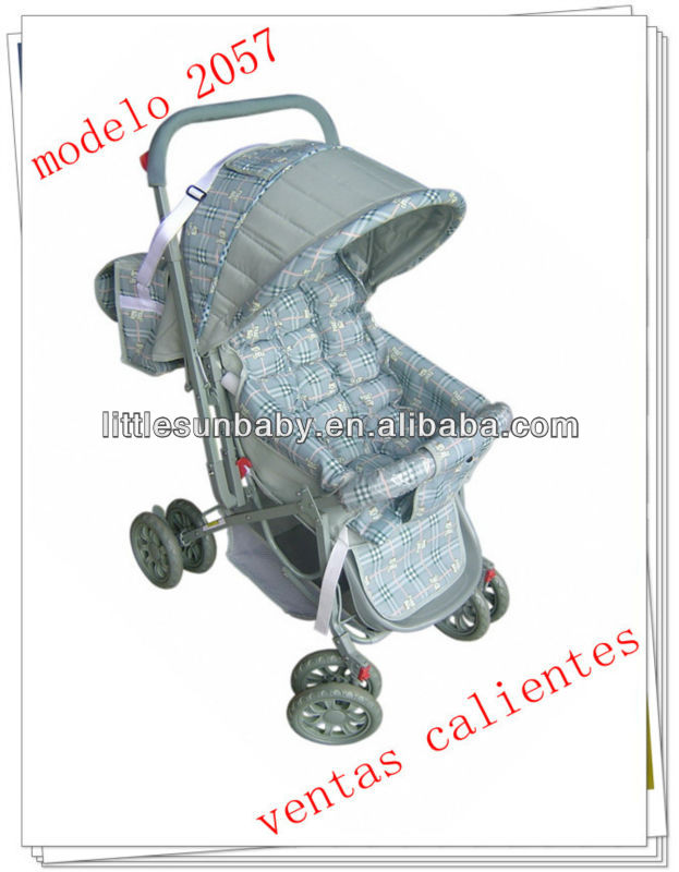 Promotional Baby Handcart/Baby Carrier/Baby Trolley 2057 Full Closed Canopy With Lock