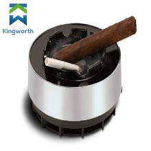 Smokeless Ashtray Smoke Free Ash Tray Battery Operated Portable Ideal for Use with Cigarettes, Cigars, Cigarillo