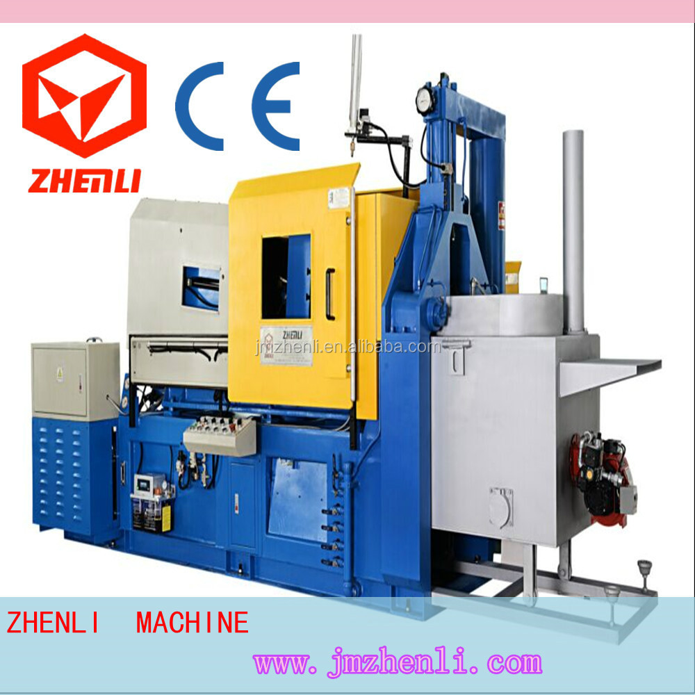 zinc alloy die casting machine making metal zipper