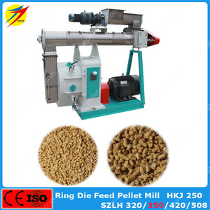 10t/h SZLH420 Poultry cattle feed pellet making machine