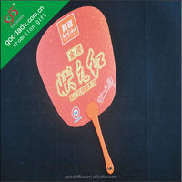 New arrivals products skillful at driving hot summer weather cute red pp hand fan