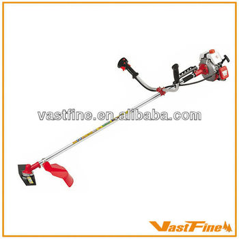 Professional gasoline brush cutter/grass trimmer 39cc VFCGT200B with metal blade