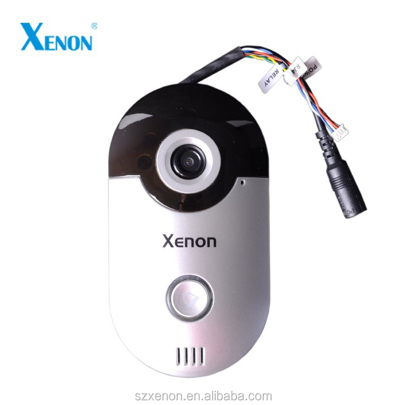 Wireless Video Door Phone with Wifi & Network Connection HD 720P Camera Wifi Video Door Phone Door Bell Camera