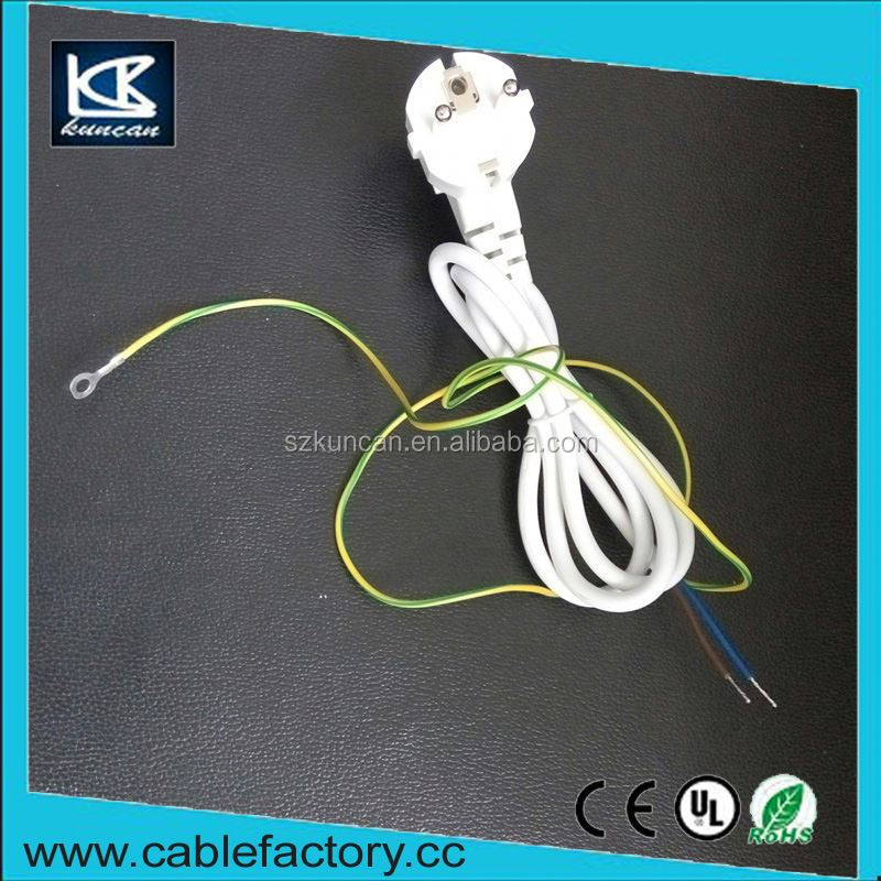 Gold supplier manufactured IEC 320 outdoor power cord 3 pin female power cord connector