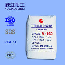 Titanium dioxide Rutile&Anatase for colormasterbatch industrial with good quality and lowest price