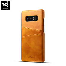 new products 2018 luxury pu leather case for samsung galaxy note 8 wallet case