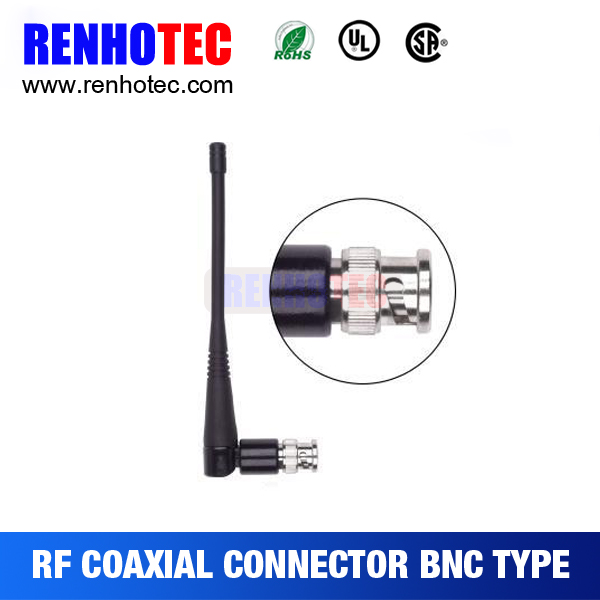 CDMA 800/GSM 850 900 rubber whip antenna 3dbi BNC male connector