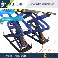 3000KG HSL3000 motorcycle lift /motorcycle lift used/hydraulic motorcycle lift