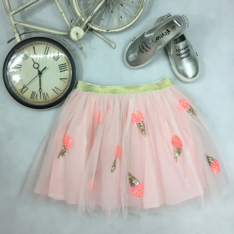 Wholesale baby wear girl clothes tulle fabric tutu skirt