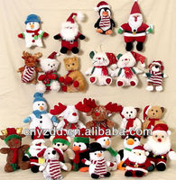 2014 hot sale chrismas toy for gifts/ plush chrismas toy/christmas gift plush toys