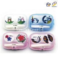 KAIDA SL-82025 Lovely Animal Contact Lens Case; Contact Lens Box; Contact Lens Accessories