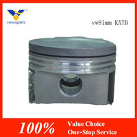 hot sale volkswagen spare parts with engine piston vw81mm KATB