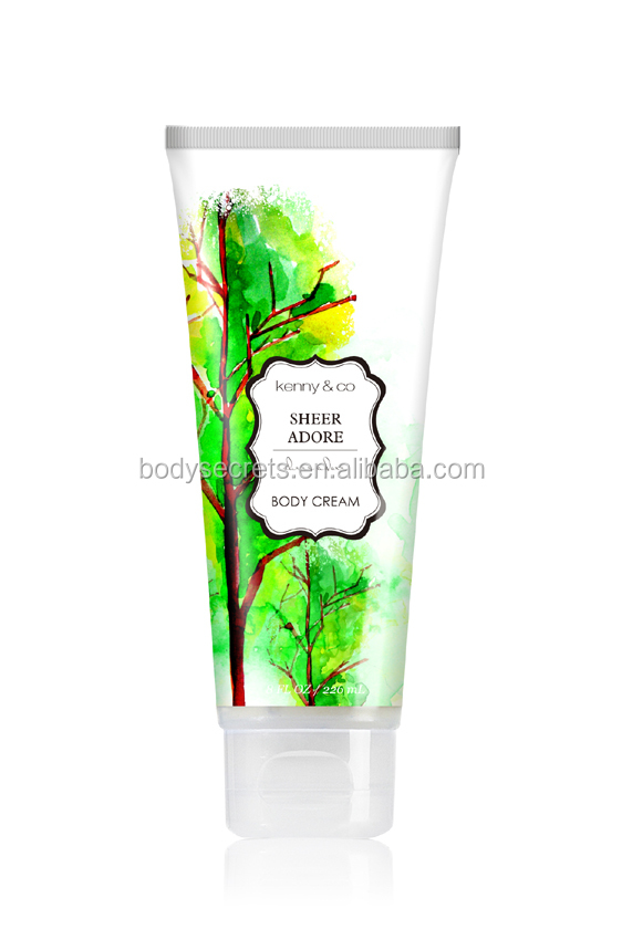 Private label skin whitening body lotion cream dry skin cream for winter skin care use