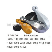 High quality lead sinker Bank sinkers BTI-BLQK