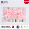 Fashionable satin bows birthday party baby plastic headband