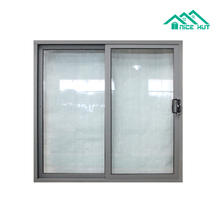 Aluminium Profile Sliding Glass Entry Door with Modern Design